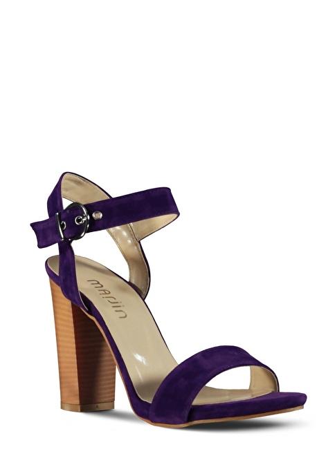 Marjin  Topuklu Ayakkabı Mor